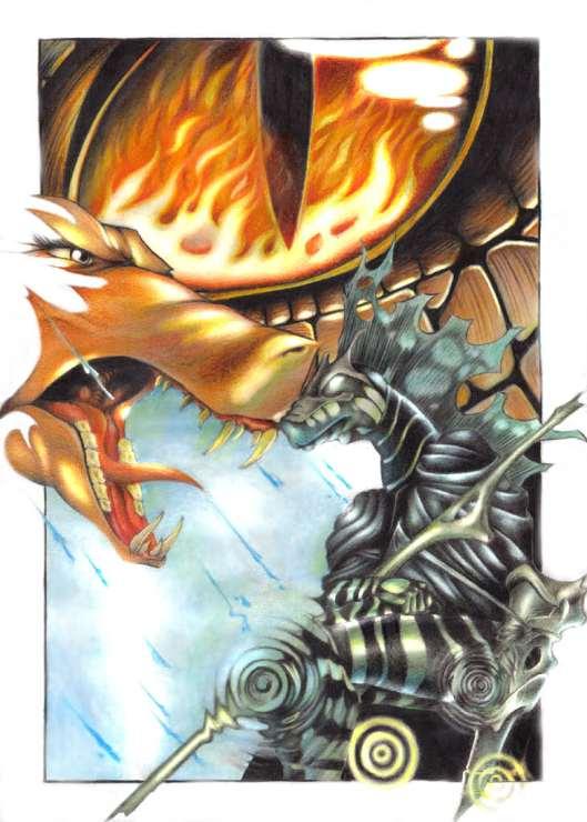 Galrasia e seus Dragões - Novas Raças para TRPG e 3D&T