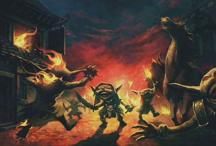 Goblins, o maior medo de um novato na ordem.